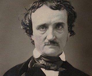 Edgar Allan Poe, circa 1849, restored, squared off - Edgar Allan Poe - Wikipedia