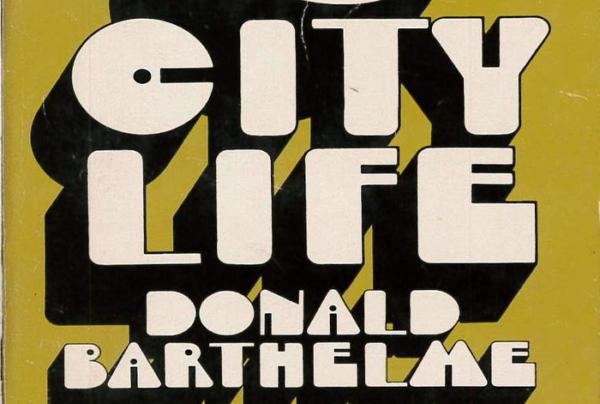 City Life – Donald Barthelme (Bantam) - Fonts In Use (1)