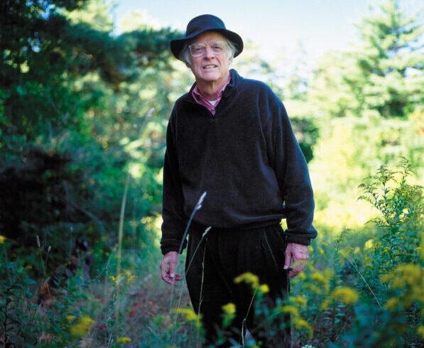 Edward Hoagland, Bennington, Vermont, 2001